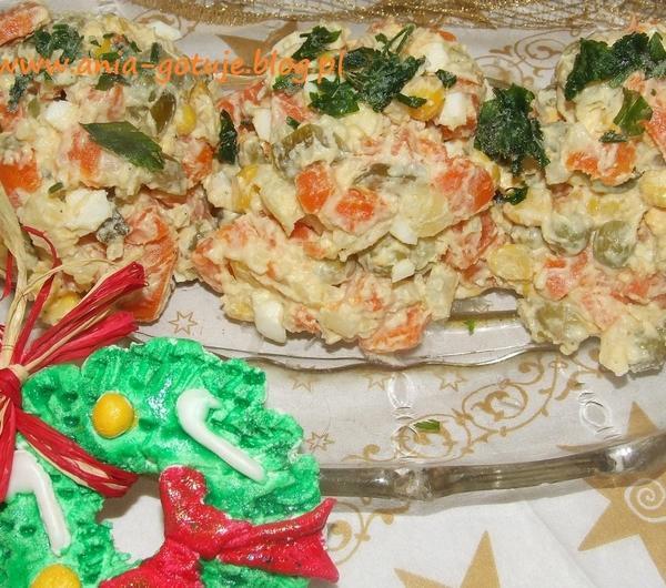 Cookit Przepis Na Tradycyjna Wigilijna Salatka Jarzynowa
