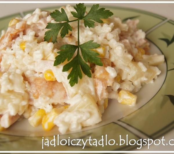 Cookit Przepis Na 98 Salatka Z Wedzonym Kurczakiem I Ananasem