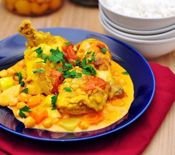 Cookit Przepis Na Kurczak Z Curry I Warzywami W Sosie Kokosowym