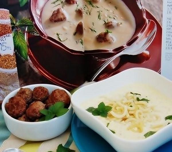Cookit Przepis Na Turecka Zupa Jogurtowa Z Wolowymi Klopsikami