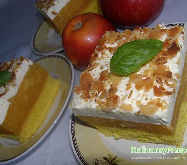 Cookit Przepis Na Biszkopt Z Jablkami I Bita Smietana
