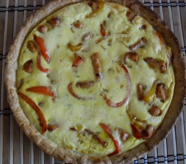 Cookit Przepis Na Tarta Z Kurczakiem I Papryka