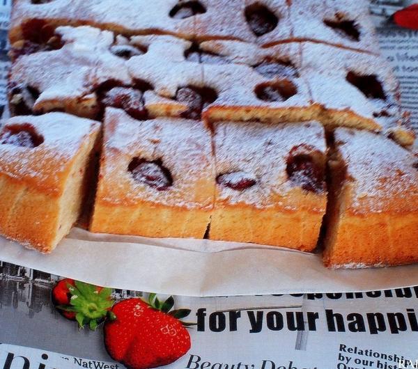 Cookit Przepis Na Ciasto Ucierane Z Truskawkami