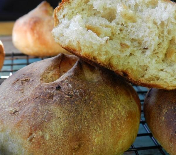 Cookit Przepis Na Bułki Na Zakwasie Z Pieczonym Czosnkiem