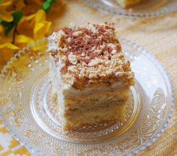 Cookit Przepis Na Ciasto Kinder Bueno Z Kremem Wafelkowym