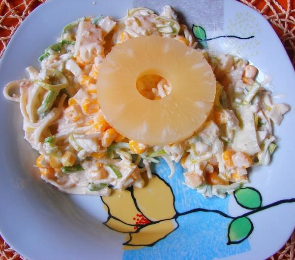 Cookit Przepis Na Salatka Z Selerem Porem I Ananasem