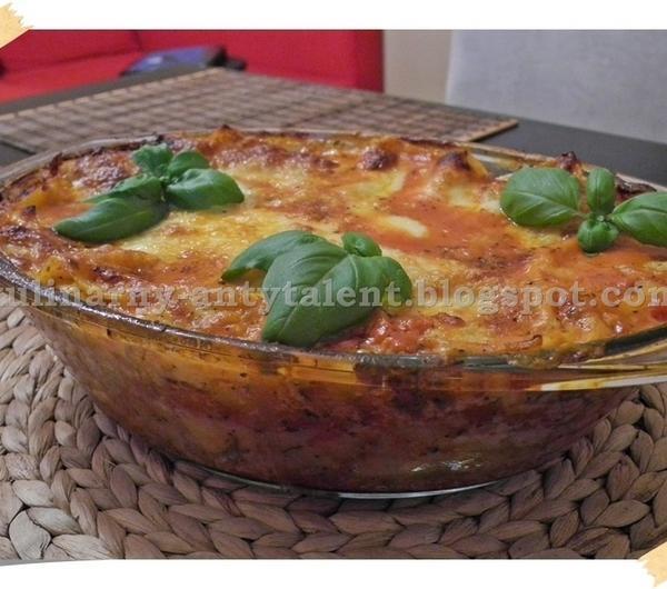 Cookit Przepis Na Lasagne Z Mozzarellą I Suszonymi Pomidorami