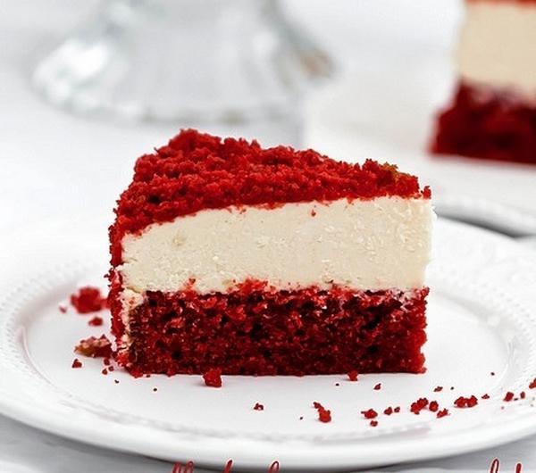 Cookit Przepis Na Bialo Czerwony Sernik Z Red Velvet Cake