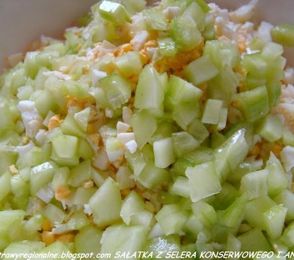 Cookit Przepis Na Salatka Z Selera Konserwowego I Ananasa