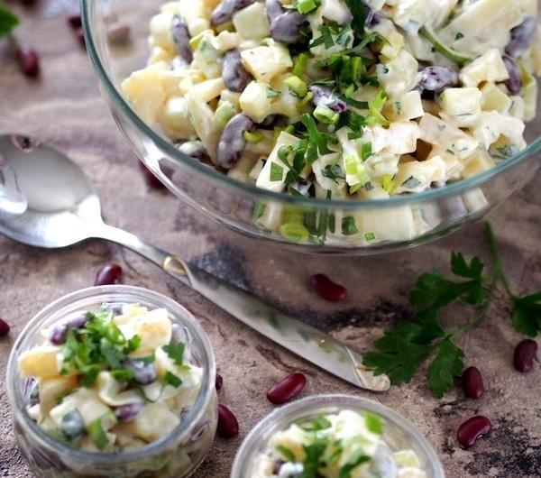 Cookit Przepis Na Salatka Karnawalowa Z Ananasem I Czerwona Fasola