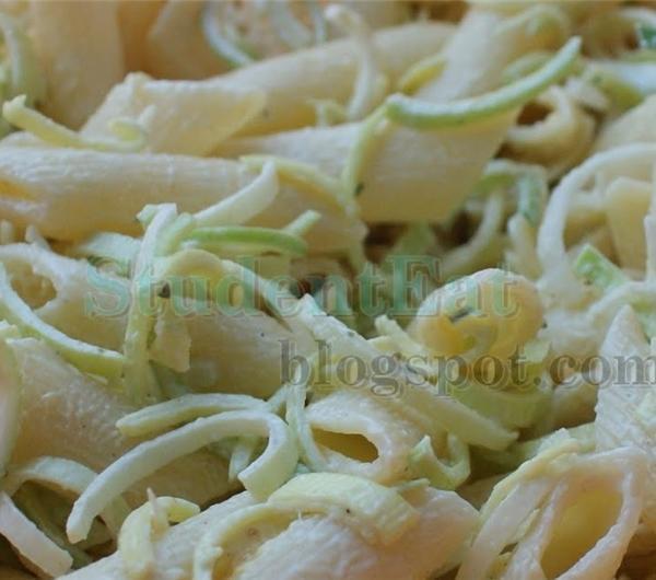 Cookit Przepis Na Salatka Porowa Z Zupek Chinskich